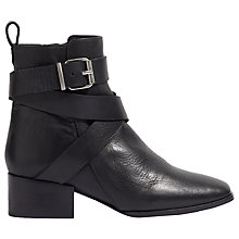 Buy Jigsaw Jessen Jodhpur Ankle Boots, Black Online at johnlewis.com