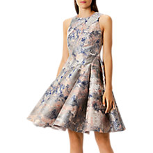 Buy Coast Blair Marble Jacquard Dress, Multi Online at johnlewis.com