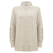 Buy Mint Velvet Raw Seam Detail Jumper, Netural Online at johnlewis.com
