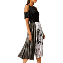 Buy Coast Samira Printed Metallic Skirt, Multi Online at johnlewis.com