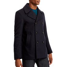 Buy Jaeger Short Peacoat, Navy Online at johnlewis.com