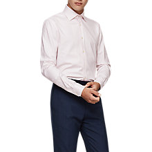 Buy Reiss Salasi Shirt, Soft Pink Online at johnlewis.com