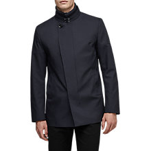 Buy Reiss Bandit Funnel Neck Jacket, Midnight Navy Online at johnlewis.com