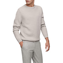 Buy Reiss Heathfield Jumper, Oatmeal Online at johnlewis.com