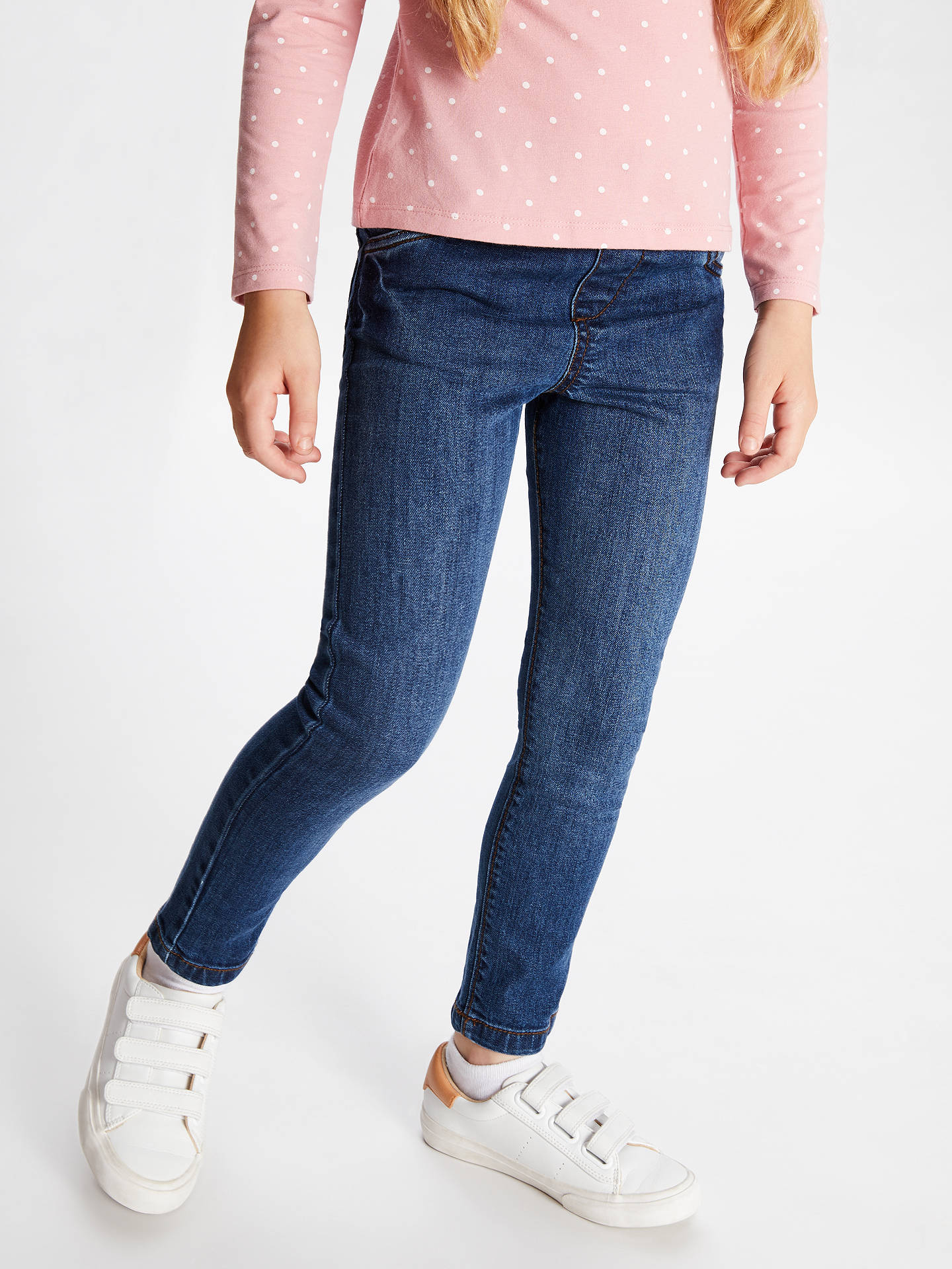 BuyJohn Lewis & Partners Girls' Fashion Jeggings, Blue, 2 years Online at johnlewis.com