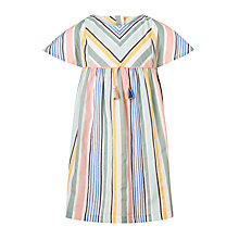 Buy John Lewis Girls' Multi Stripe Dress, Multi Online at johnlewis.com