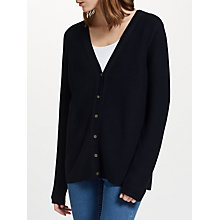 Buy John Lewis Purl Mix Stitch Cardigan Online at johnlewis.com