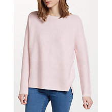 Buy John Lewis Purl Mix Stitch Boat Neck Jumper Online at johnlewis.com