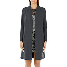 Buy Marc Cain Slim Line Wool Coat, Charcoal Online at johnlewis.com