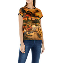 Buy Marc Cain Graphic Print Top, Multi Online at johnlewis.com
