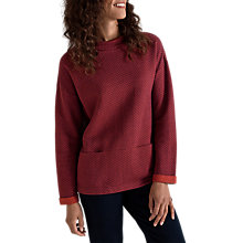 Buy Seasalt Rock Beach Sweatshirt, Juxtapose Merlot Cinder Online at johnlewis.com