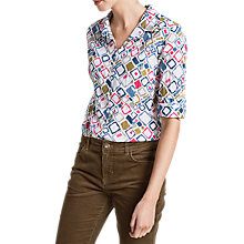 Buy Seasalt Larissa Shirt, Torn Squares Salt Online at johnlewis.com