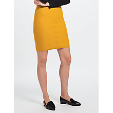 Buy Marc Cain Wool Pencil Skirt, Gold Online at johnlewis.com
