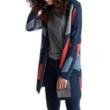 Buy Seasalt Expressionist Cardigan, Coller Night Online at johnlewis.com