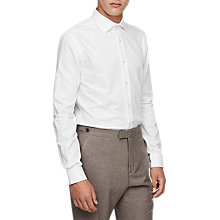 Buy Reiss Ragan Shirt, White Online at johnlewis.com