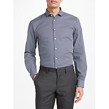 Buy Kin by John Lewis Geo Print Slim Fit Shirt, Navy Online at johnlewis.com