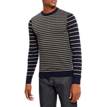 Buy Jaeger Striped Knit Jumper Online at johnlewis.com