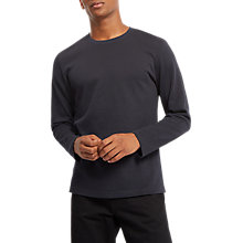 Buy Jaeger Natural Classic Jumper, Olive Online at johnlewis.com