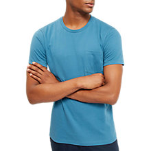 Buy Jaeger Plain T-Shirt, Blue Online at johnlewis.com