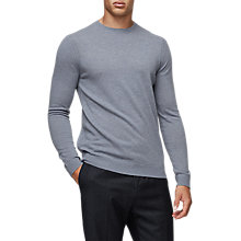 Buy Reiss Charmer Knit Jumper, Airforce Blue Online at johnlewis.com