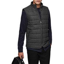 Buy Reiss Frankie Gilet, Grey Online at johnlewis.com