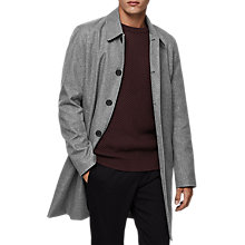 Buy Reiss Ward Mac, Grey Melange Online at johnlewis.com