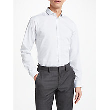 Buy Kin by John Lewis Diamond Print Slim Fit Shirt, White Online at johnlewis.com