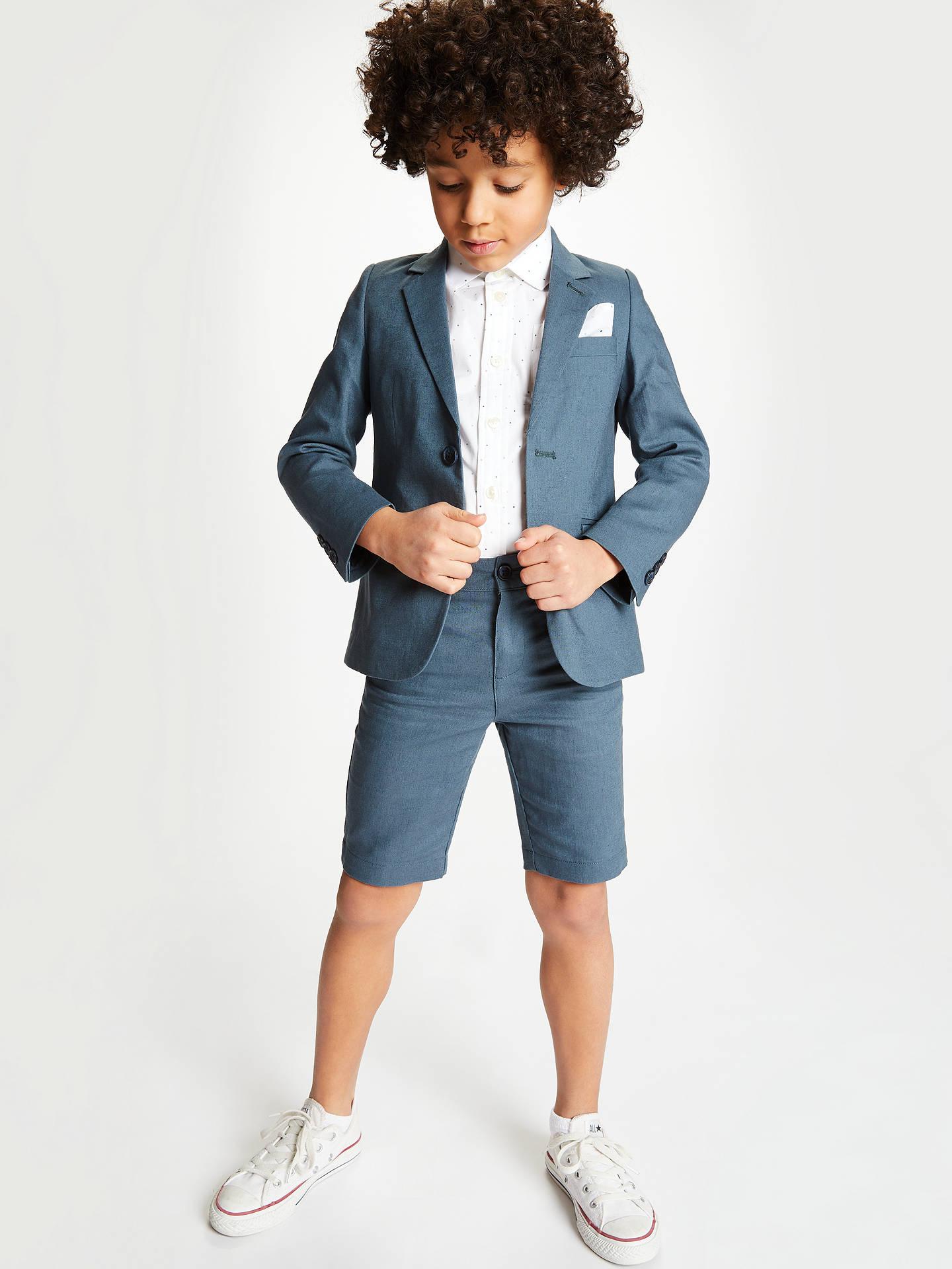05c730c26023f John Lewis Heirloom Collection Boys' Linen Cotton Suit Shorts ...