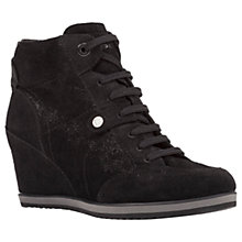 Buy Geox Illusion Wedge Heel Lace Up Trainers Online at johnlewis.com