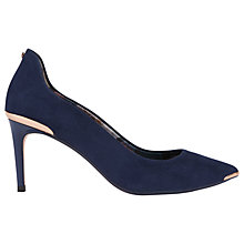 Buy Ted Baker Vyixin Expressive Pansy Court Shoes Online at johnlewis.com