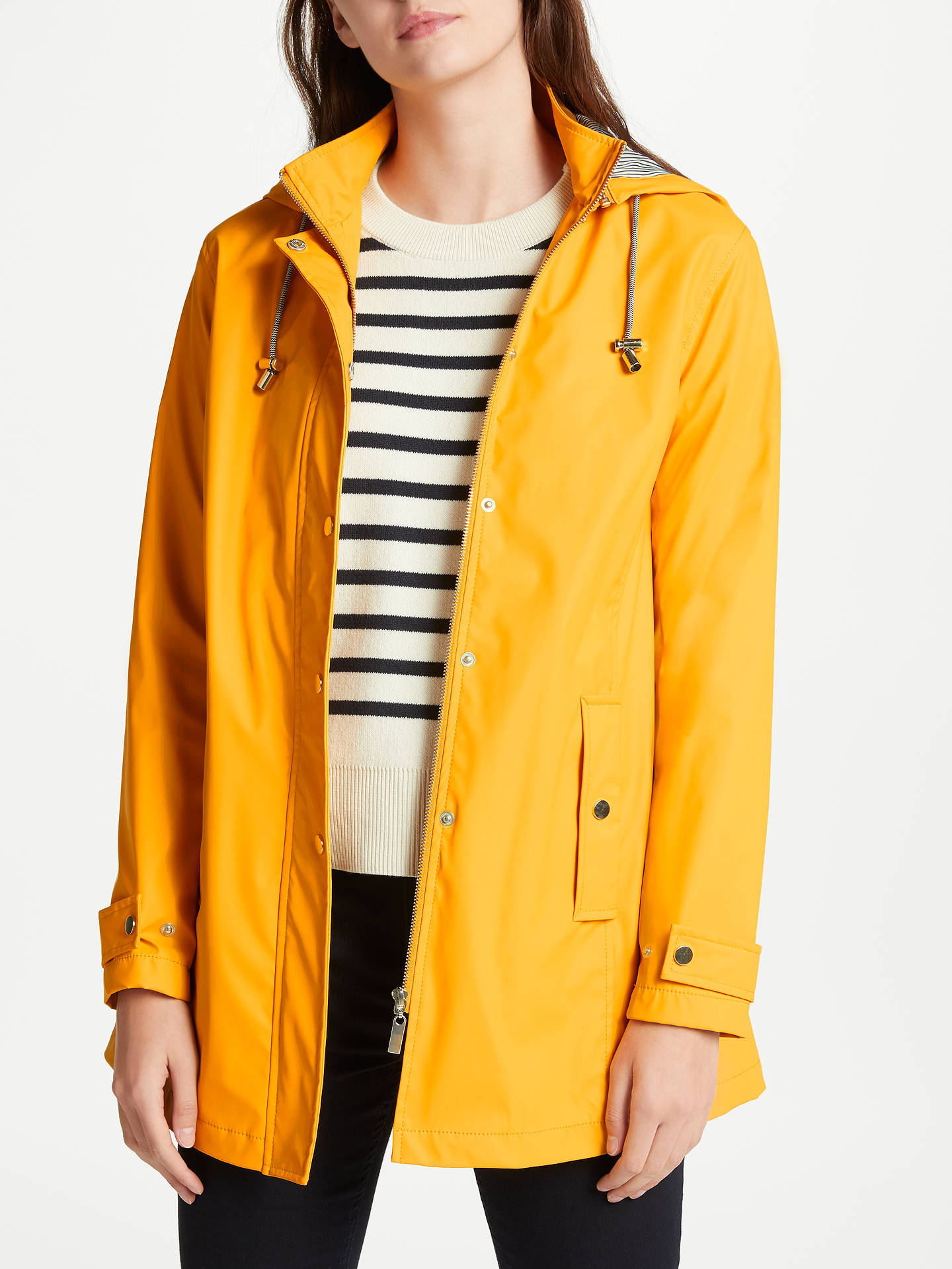 9b3490cef Buy John Lewis Hooded Raincoat, Yellow, 8 Online at johnlewis.com ...