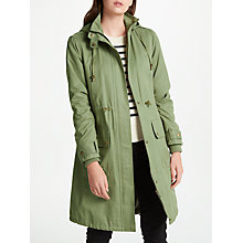 Buy John Lewis Parka Coat, Khaki Online at johnlewis.com