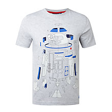 Buy Star Wars Deconstructed R2-D2 T-Shirt, Grey Online at johnlewis.com