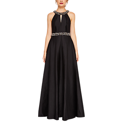 Product photo of Ted baker shelani embellished maxi dress black