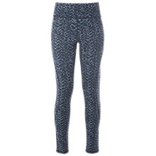Buy White Stuff Vibrant Printed Leggings, Black Online at johnlewis.com