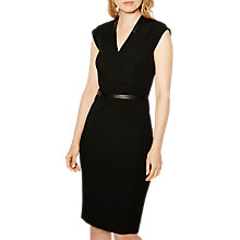Buy Karen Millen Tailored Dress, Black Online at johnlewis.com
