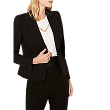 Buy Karen Millen The Essentials Tailoring Collection Blazer, Black Online at johnlewis.com