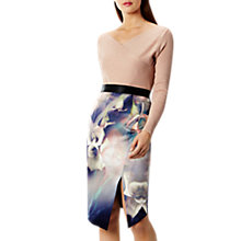 Buy Coast Selenis Printed Pencil Skirt, Multi Online at johnlewis.com