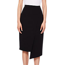Buy Ted Baker Nimmo Wrap Pencil Skirt, Black Online at johnlewis.com