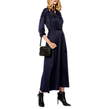 Buy Karen Millen Fluid Shirt Dress, Navy Online at johnlewis.com