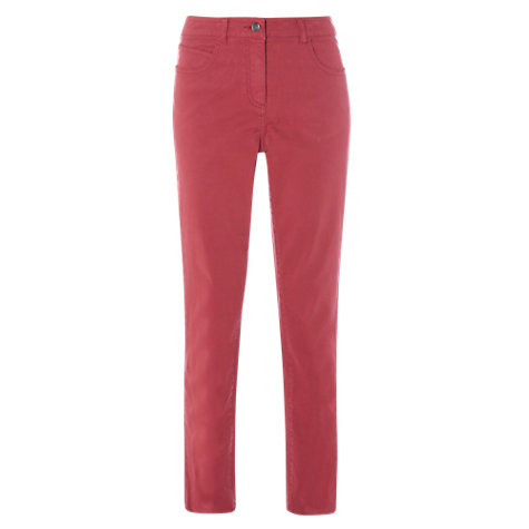 Buy White Stuff Oak Peached Slim Trousers Online at johnlewis.com