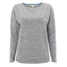 Buy White Stuff Sweatshirt, Grey Marl Online at johnlewis.com