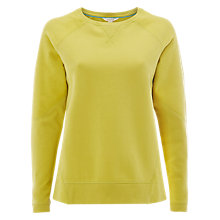 Buy White Stuff Dreamy Days Brushed Sweatshirt, Lichen Green Online at johnlewis.com