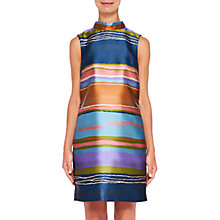 Buy Ted Baker Ivara Striped Dress, Navy Online at johnlewis.com