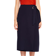 Buy Ted Baker Teea Eyelet Detail Wrap Skirt, Navy Online at johnlewis.com