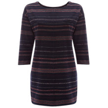 Buy White Stuff Raindance Stripe Jersey Tunic, Navy Online at johnlewis.com