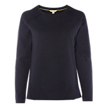 Buy White Stuff Brushed Back Sweatshirt, Navy Online at johnlewis.com