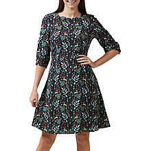 Buy Sugarhill Boutique Cate Enchanted Woodland Dress, Black/Multi Online at johnlewis.com