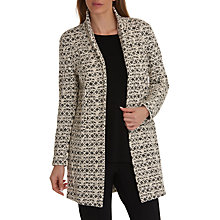 Buy Betty Barclay Textured Jacket, Cream/Black Online at johnlewis.com
