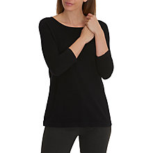 Buy Betty Barclay Oversized Double Layer Jumper, Black Online at johnlewis.com